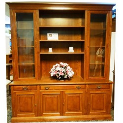 LIBRERIA HAYA COLOR CEREZO 205 X 47 X 232