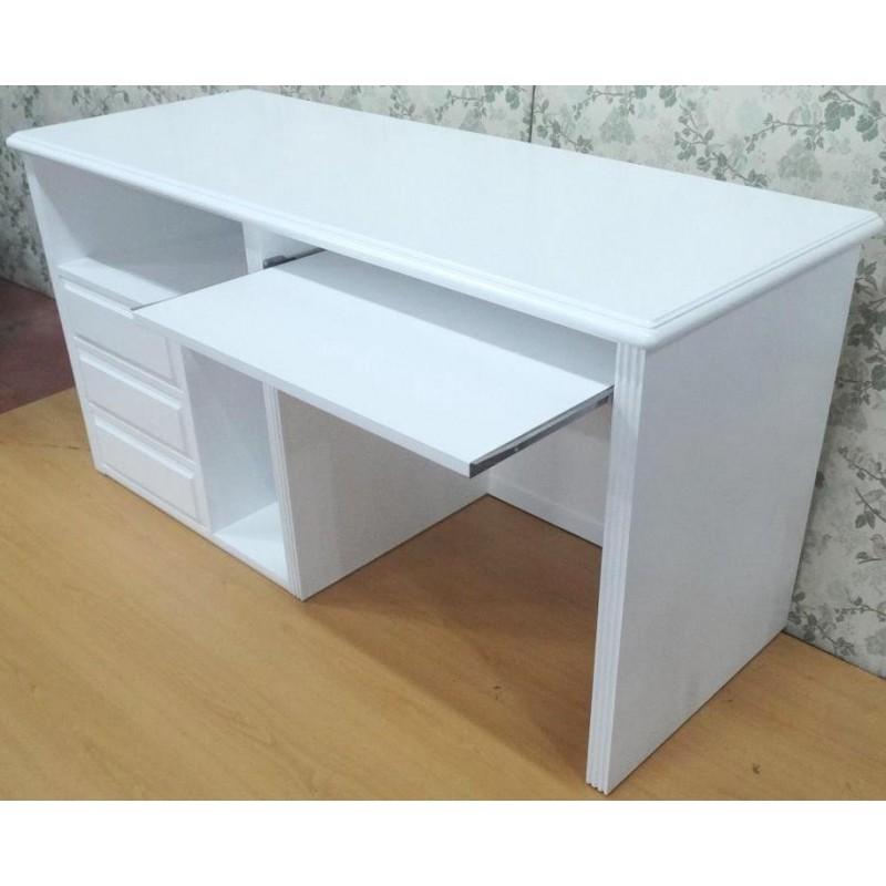 Muebles campillo mesas estudio for Mesa de ordenador blanca