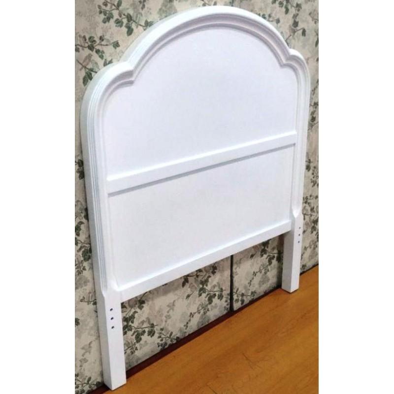 Muebles campillo dormitorios for Cabecero cama 90 blanco