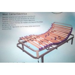 CAMA ELECTRICA ARTICULADA LAMAS