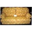 Sofas 3 plazas, puff